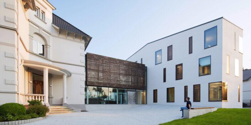 Neubau und Erweiterung des Bürogebäudes der Firma Weinrich in Herford - BKSA