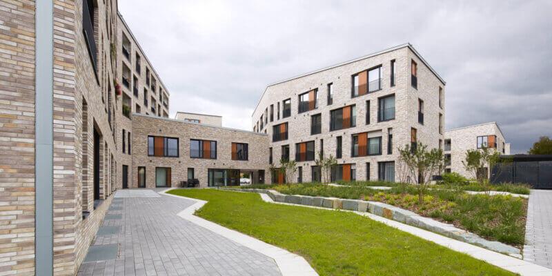 Wohnquartier Freie Scholle in Bielefeld - BKSA