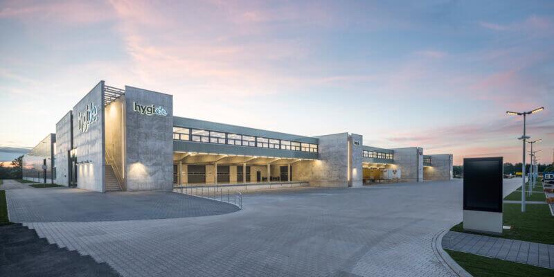 Hygi-Logistikzentrum in Telgte - BKSA