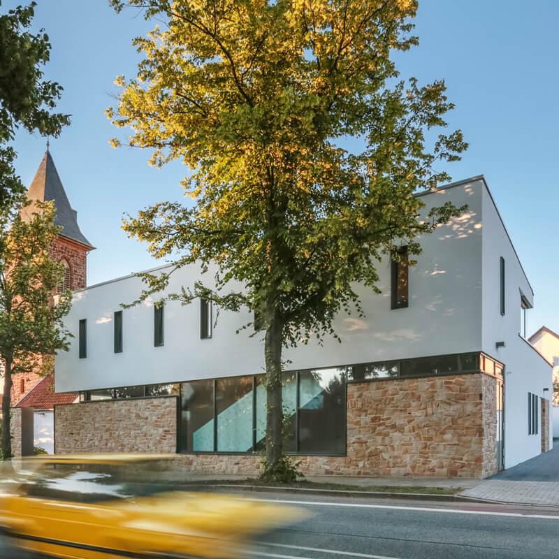 Neubau katholisches Gemeindehaus St.Johannes in Lübbecke - BKSA