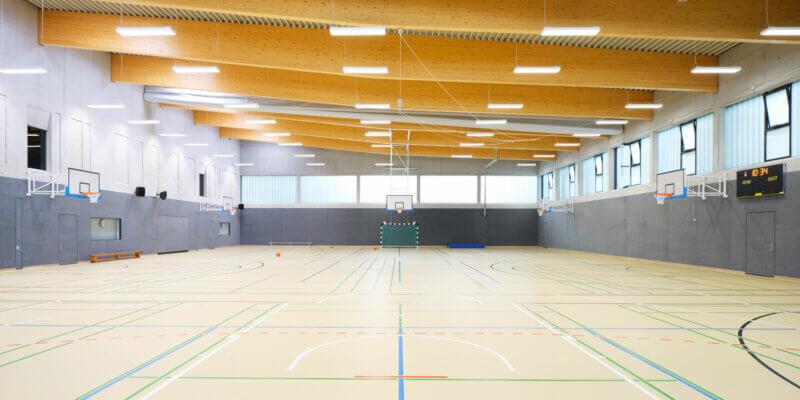 Dreifeldsporthalle an der Max-Brauer Schule in Hamburg - BKSA