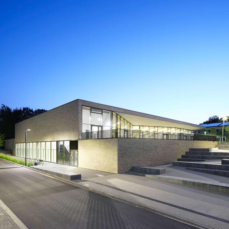 Dreifeldsporthalle am Graf-Stauffenberg Gymnasium in Osnabrück - BKSA